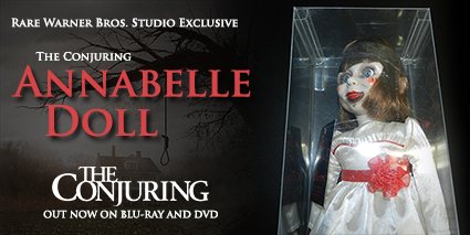 the conjuring giveaway contest annabelle doll creepy rare