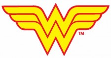 wonder woman logo rare emblem dc comics rare