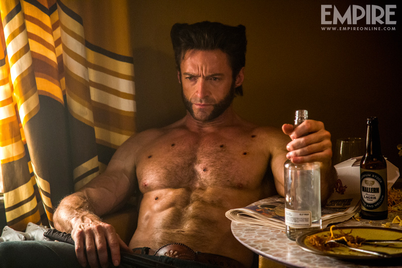xmen-dofp-photo5 hugh jackman shirtless x men days of future past naked
