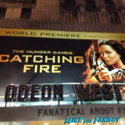 hunger games catching fire uk movie premiere