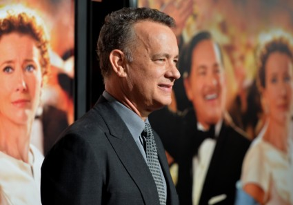 tom hanks at the Saving Mr. Banks AFI Screening! With Emma Thompson! Tom Hanks! Colin Farrell! And More!