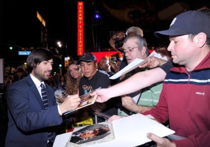 jason schwartzman at the Saving Mr. Banks AFI Screening! With Emma Thompson! Tom Hanks! Colin Farrell! And More!