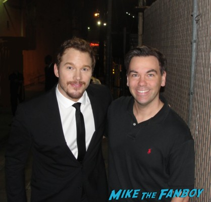 2013 Chris Pratt fan photo hot sexy parks and recreation star rare