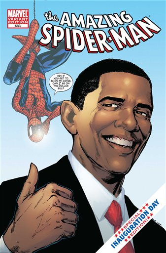 Spider-Man, Barack Obama