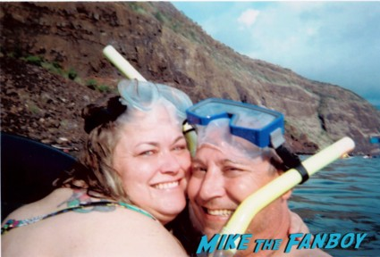 Above water selfie