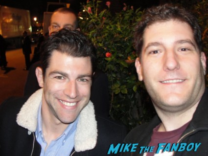 max greenfield signing autographs for fans rare promo new girl veronica mars star