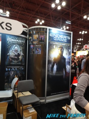 Ender's game book NYCC 2013