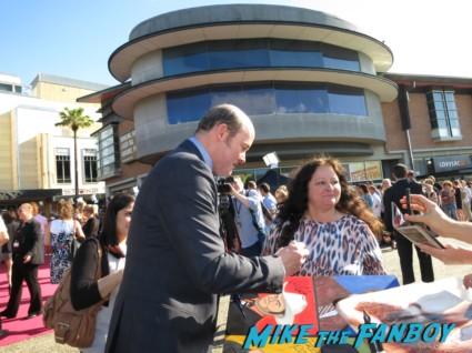 David Koechner signing autographs anchorman 2 australian movie premiere