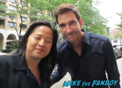 IMG_3691Dylan McDermott signing autographs for fans photo rare hot sexy
