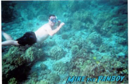 Keith underwater