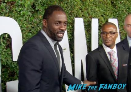 Mandela: Long Walk to Freedom Premiere! Idris Elba! Naomie Harris!