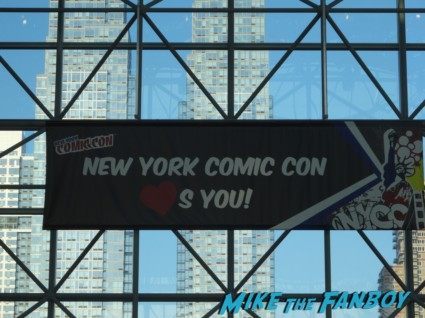 NYCC 2013 loves you banner