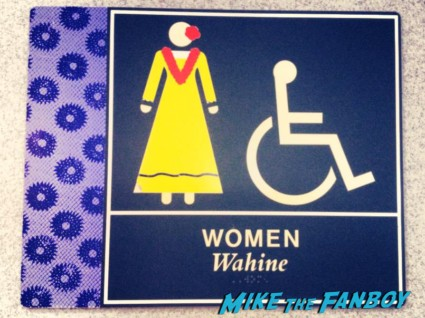 On the way home - ladies room