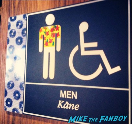On the way home - men's room
