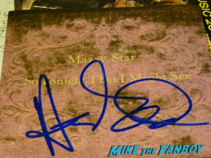 Hope Sandoval signed autograph mazzy star cd cover rare hot promo autograph