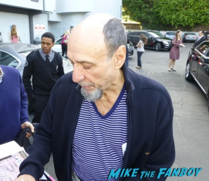 F. Murray Abraham signing autographs for fans rare
