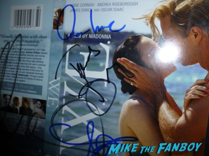 Oscar Isaac signed autograph WE DVD Cover Rare signing autographs for fans
