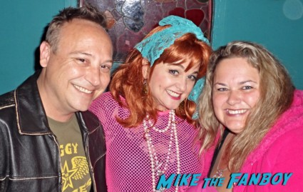 julie brown signing autographs homecoming queens got a musical fan photo rare