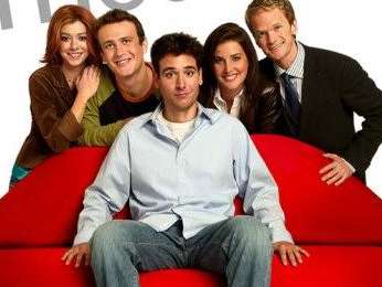 how I met your mother cast photo rare
