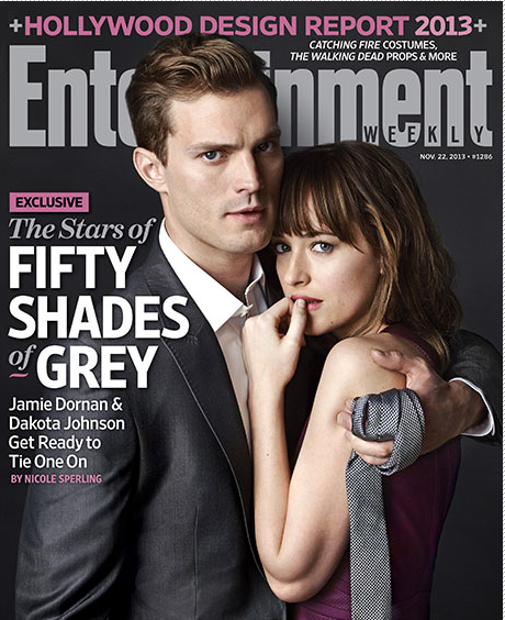 50 shades of grey entertainment weekly cover jamie dornan dakota johnson hot sexy photo shoot