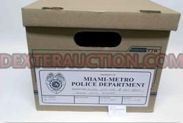 dexter prop costume evidence box