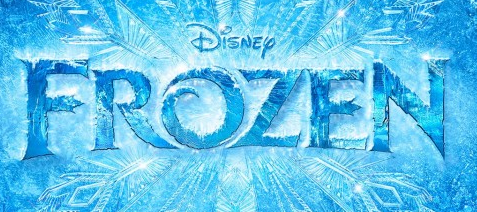 frozen movie poster logo rare