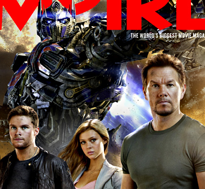 empire magazine marky mark transformer age of extinction cover rare