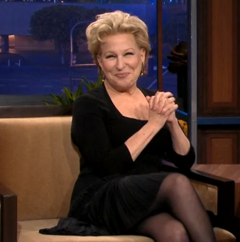 bette midler on tonight show with jay leno