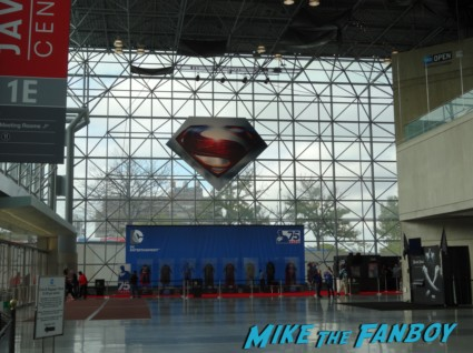 Super suit tour CU nycc 2013 man of steel prop costume man of steel rare