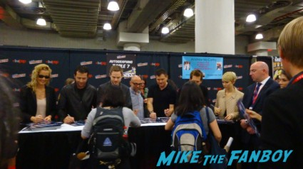 The Following autograph signing nycc 2013 rare