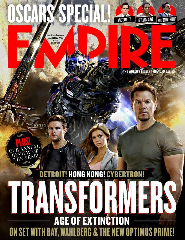 Transformers-Empire empire magazine marky mark transformer age of extinction cover rare
