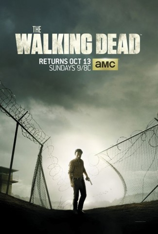 the walking dead season 4 promo poster key art
