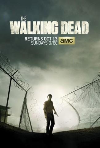 the walking dead season 4 promo poster key art