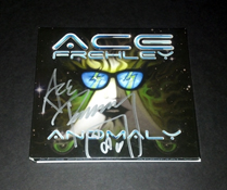 Ace Frehley signed autograph cd cover rare