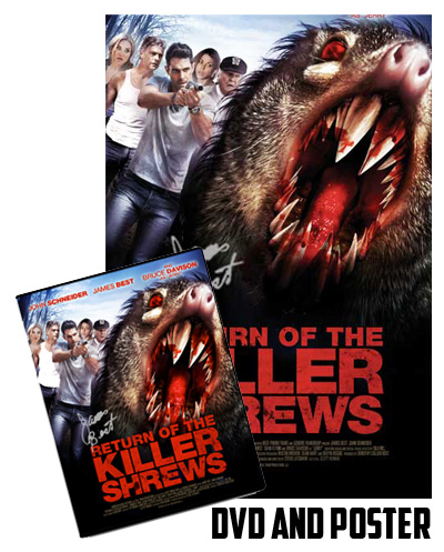 return of the kill shews signed poster