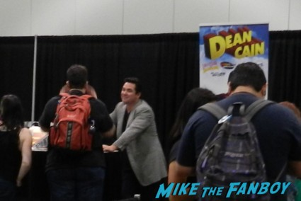 dean cain at the comikaze 2013 cosplay thor rare loki ghostbusters stan lee 032