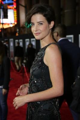 Cobie Smulders delivery man movie premiere red carpet (25)