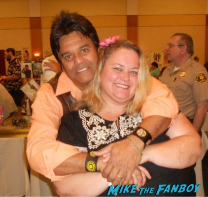 Erik Estrada fan photo signing autographs for fans rare