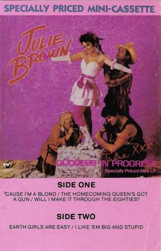 goddess in progress julie brown homecoming queen's got a gun julie brown musical