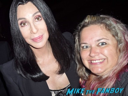 hobby - Cher signing autographs fan photo