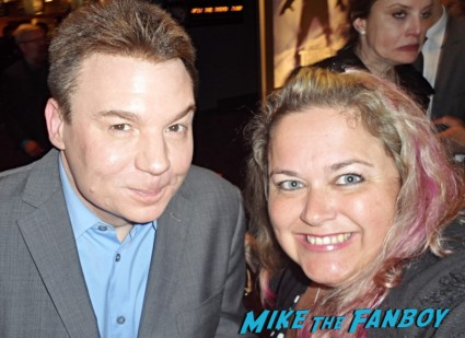 hobby - mike myers signing autographs fan photo