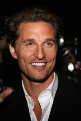 Matthew McConaughey hot red carpet photo
