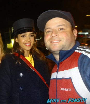 jessica alba fan photo signing autographs for fans rare promo