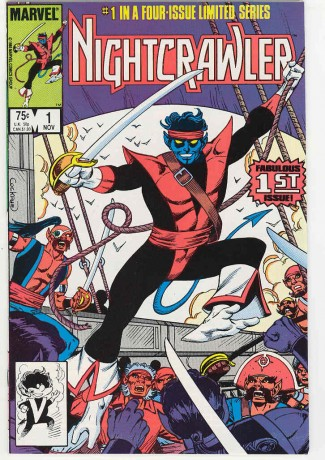 nightcrawler comic book rare vintage