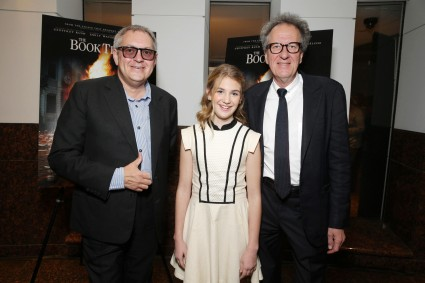 Brian Percival, Sophie Nelisse, Geoffrey Rush