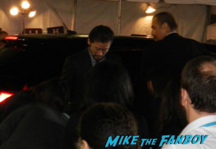 Tadanobu Asano at the thor dark world movie premiere red carpet chris hemsworth 008