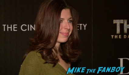 Heather Matarazzo at thor dark world new york screening premiere natalie portman (3)