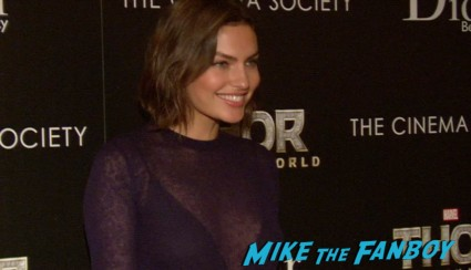 Alyssa Miller at thor dark world new york screening premiere natalie portman (3)