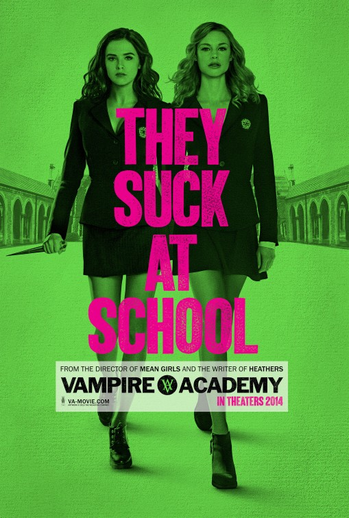 vampire_academy_blood_sisters_ver2 vampire academy crest movie poster logo rare