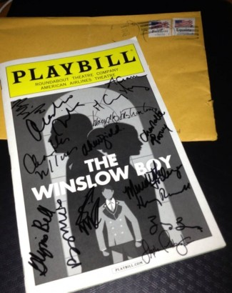 winslow boy playbill rare program